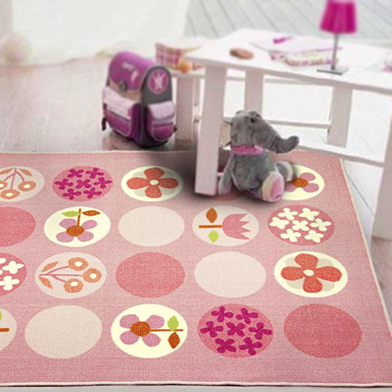 鸿鼎化纤可手洗可机洗北欧宜家锦纶卡通动漫长方形日韩机器织造地毯