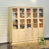 框架结构松木储藏儿童田园 书柜