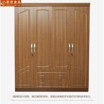 人造板哑光密度板/纤维板PVC储藏平拉门成人简约现代 衣柜