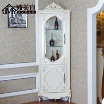 图色框架结构橡木多功能艺术欧式 SJ01酒柜