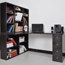人造板电脑桌书架刨花板/三聚氰胺板台式电脑桌现代中式 电脑桌