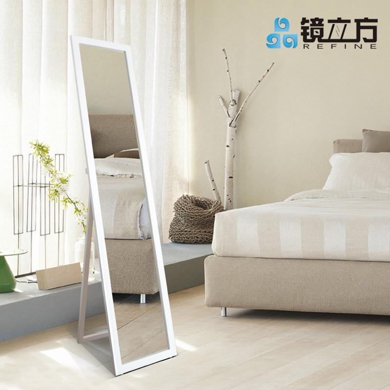 镜立方木置地方形简约现代-穿衣镜