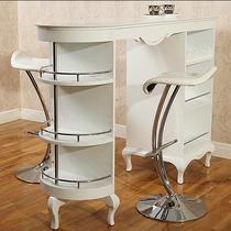 油漆工艺木质工艺烤漆框架结构储藏艺术欧式 吧台