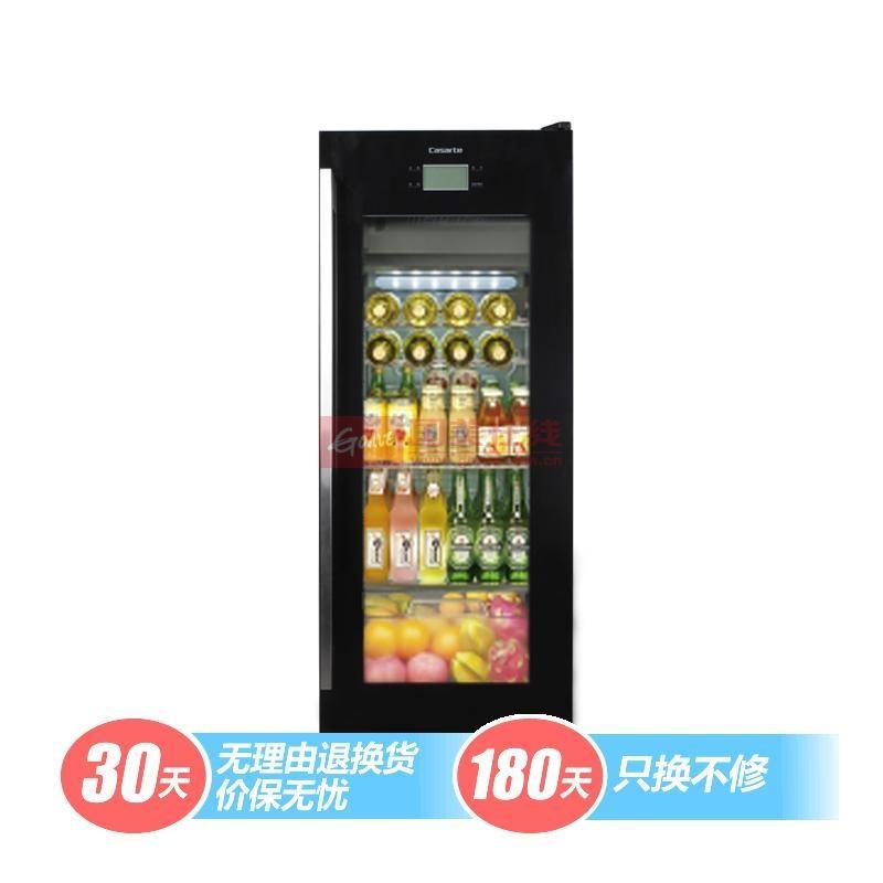 卡薩帝 黑色42dB電腦式定頻R600a直冷式側開式 酒柜
