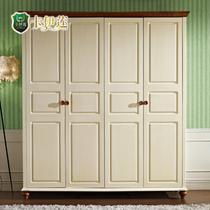 象牙白楸木储藏成人美式乡村 衣柜