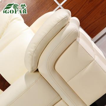 歌梵接触面真皮形水洗木质工艺拼板桦木移动海绵简约现代-沙发