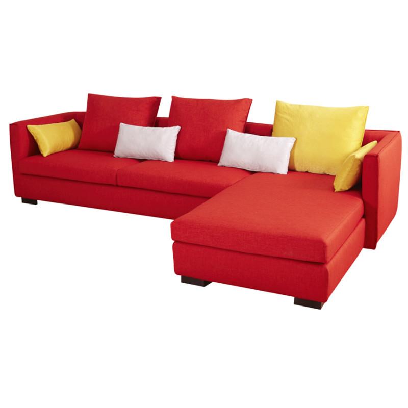 曲美 組合L形多功能海綿成人簡約現代 沙發