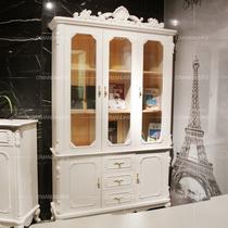 现货疯狂热卖哑光人造板箱框结构橡木拆装艺术成人欧式 书柜