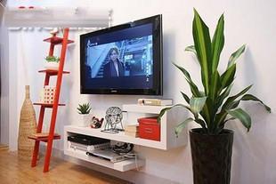 家鸿锦人造板特殊造型刨花板三聚氰胺板成人简约现代电视架