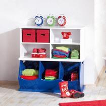 人造板密度板/纤维板箱框结构储藏童趣/玩具田园 组合柜