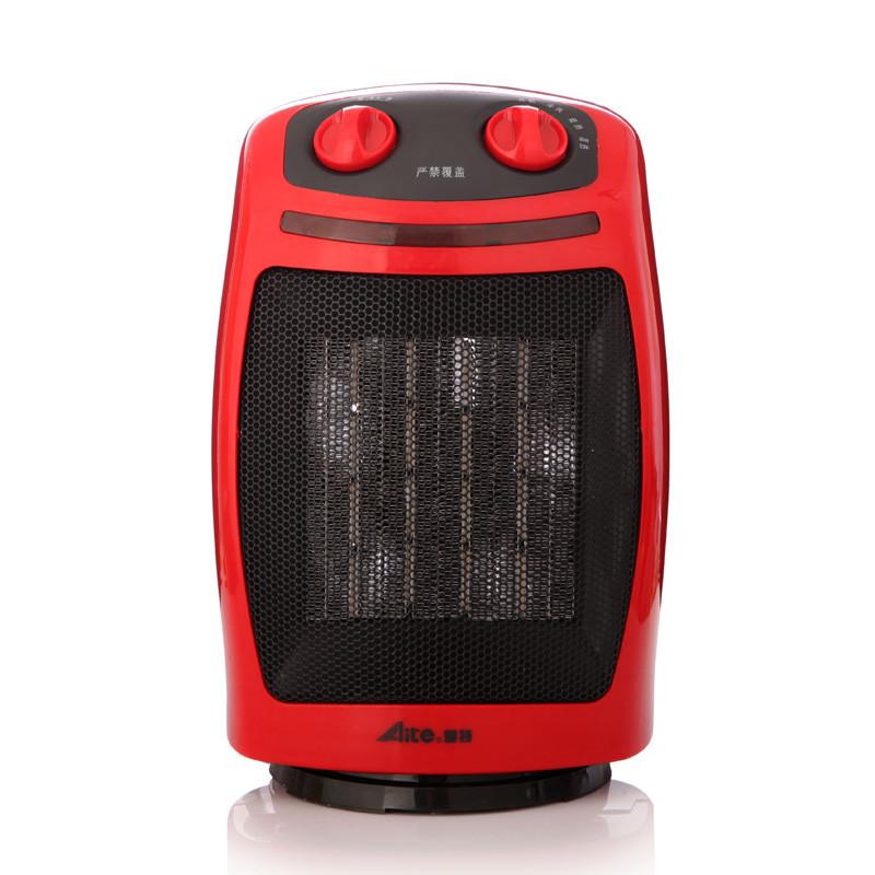 爱特红色陶瓷加热取暖器