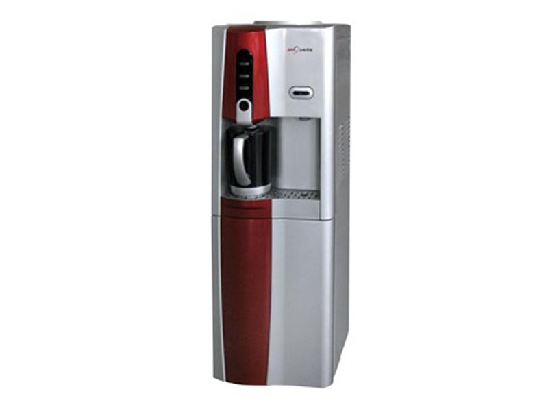 浪木 紅銀18L/H按鍵石英臭氧單封閉門立式內膽加熱溫熱型 飲水機