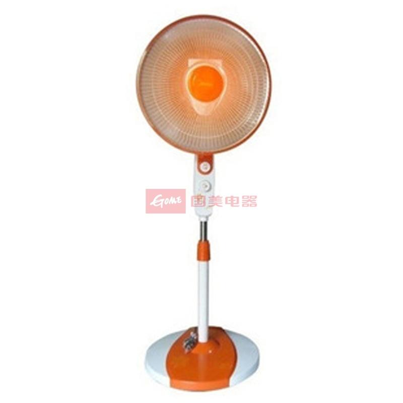 美的 中端高性价比手动式2小时定时小时2档50HZ陶瓷发热盘小太阳 取暖器