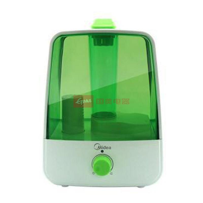 美的 白色交流电中端高性价比旋钮式迷你时尚<38db50HZ超声波 加湿器