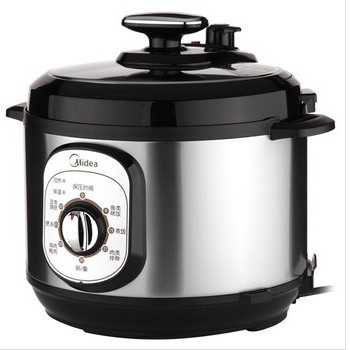 美的 电压力锅煲蒸煮焖全国联保机械式 电压力锅