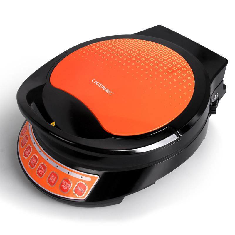 利仁 黑色悬浮式DS-300TC电饼铛双面加热全国联保烤炸炒烙煎 电饼铛