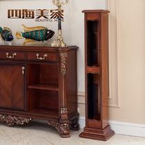 木质工艺雕刻框架结构桦木置地用欧式 CD架