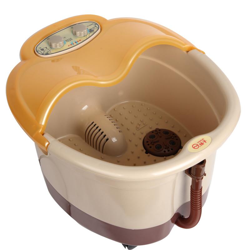 扬子 温暖黄扬子全国联保下排式连体结构 足浴盆