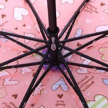 手动碰击布雨伞三折伞成人 3732遮阳伞