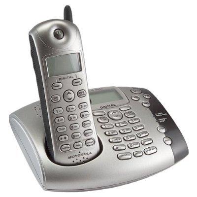 摩托罗拉通讯录数字无绳电话机