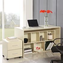 散装电脑桌刨花板/三聚氰胺板多功能单个简约现代 书桌