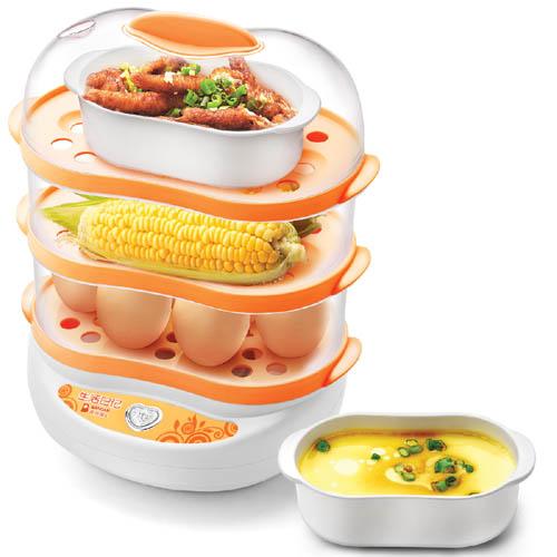 班得瑞 粉色蒸面食 ZDQ-F10煮蛋器