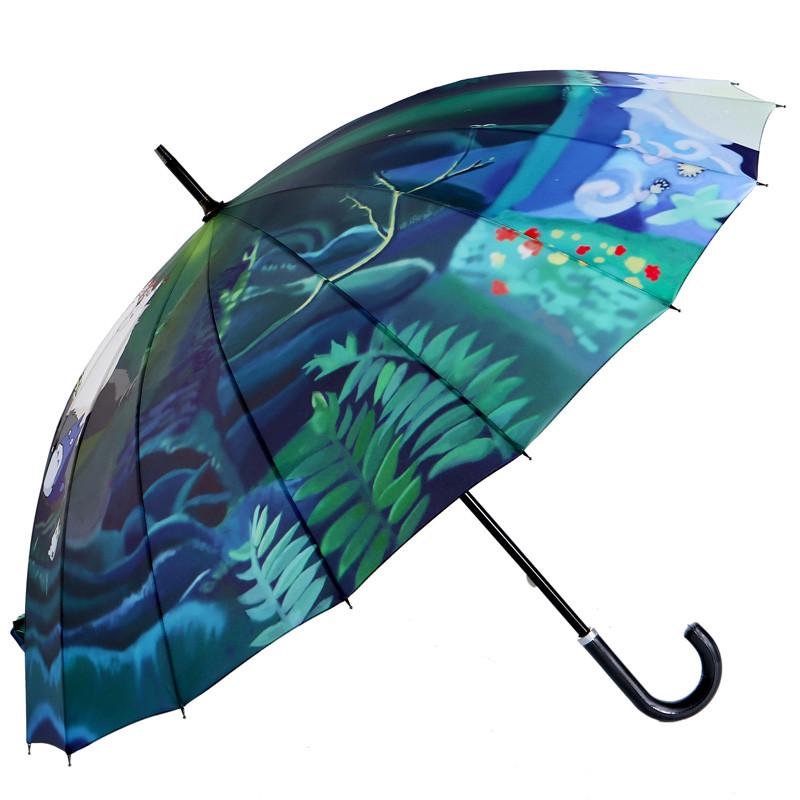 雪堡热销售罄,天发货手动碰击布雨伞长柄伞成人遮阳伞