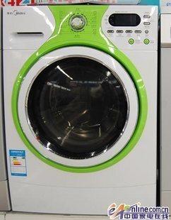 美的全自动滚筒-洗衣机不锈钢内筒洗衣机