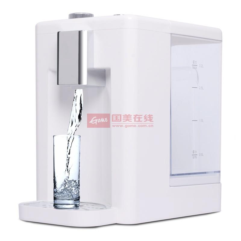 家尚 白色單封閉門臺式內膽加熱溫熱型 飲水機