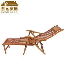 竹支架结构折叠成人田园 zy0001摇椅