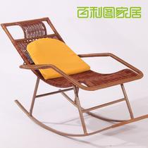 金属铁编织/缠绕/捆扎结构移动艺术成人美式乡村 摇椅