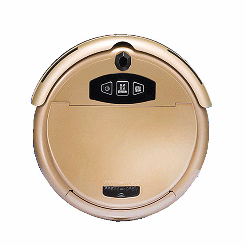 歐博 無低于55分貝紙質塵袋線充、虛擬墻隨機式干濕兩用智能掃地機 吸塵器
