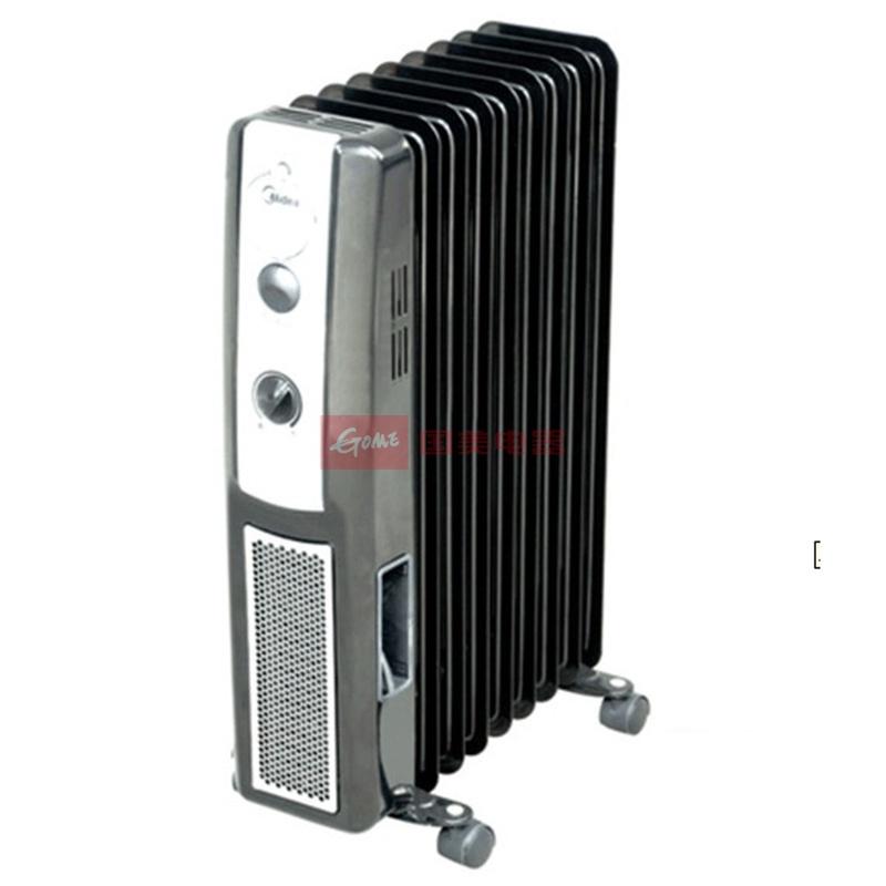 美的 3档高端/进口手动调节50Hz油汀式电热油汀 取暖器