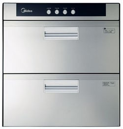 美的 120℃二级臭氧、紫外线消毒电脑控制 MXV-ZLP90Q02消毒柜