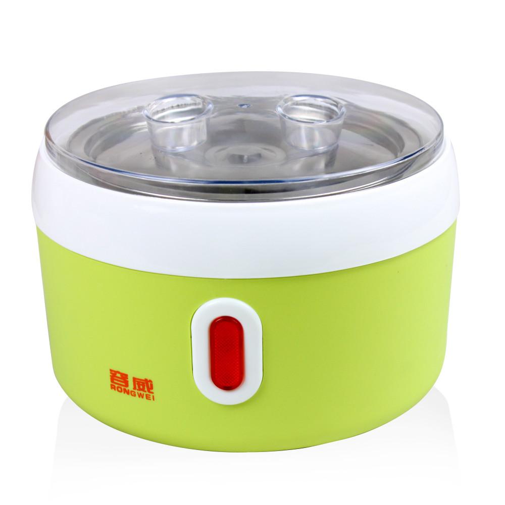 容威 粉红色浅绿色酸奶不锈钢全自动 酸奶机