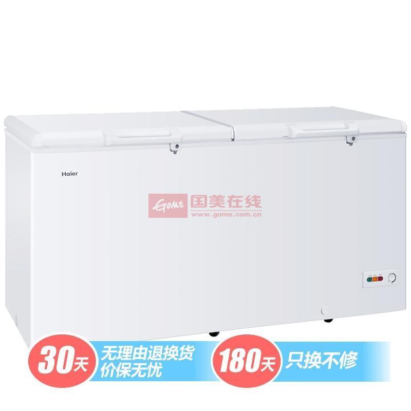 海爾 白色四級52db機械式定頻R404a直冷頂開式臥式冷柜 冷柜
