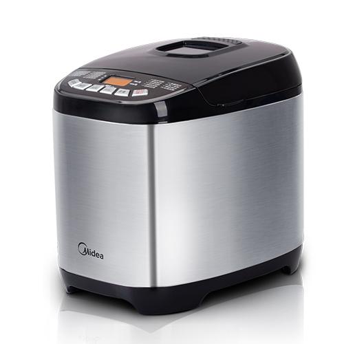 美的 黑色单搅拌叶片5档以上金属50Hz食品级内胆 面包机
