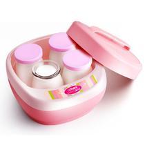 粉色酸奶玻璃机械式 酸奶机