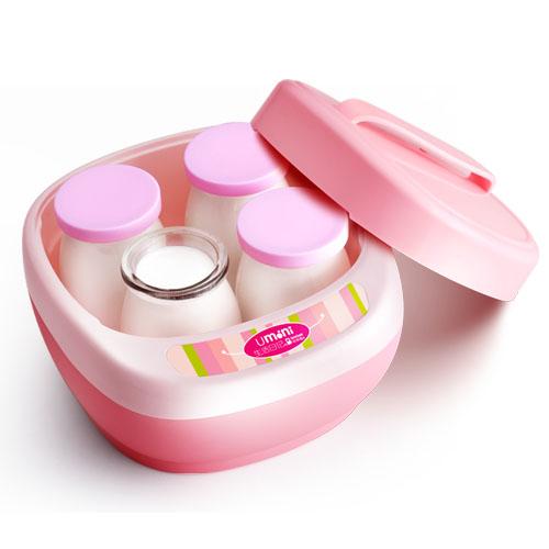 生活日記 粉色酸奶玻璃機械式 酸奶機
