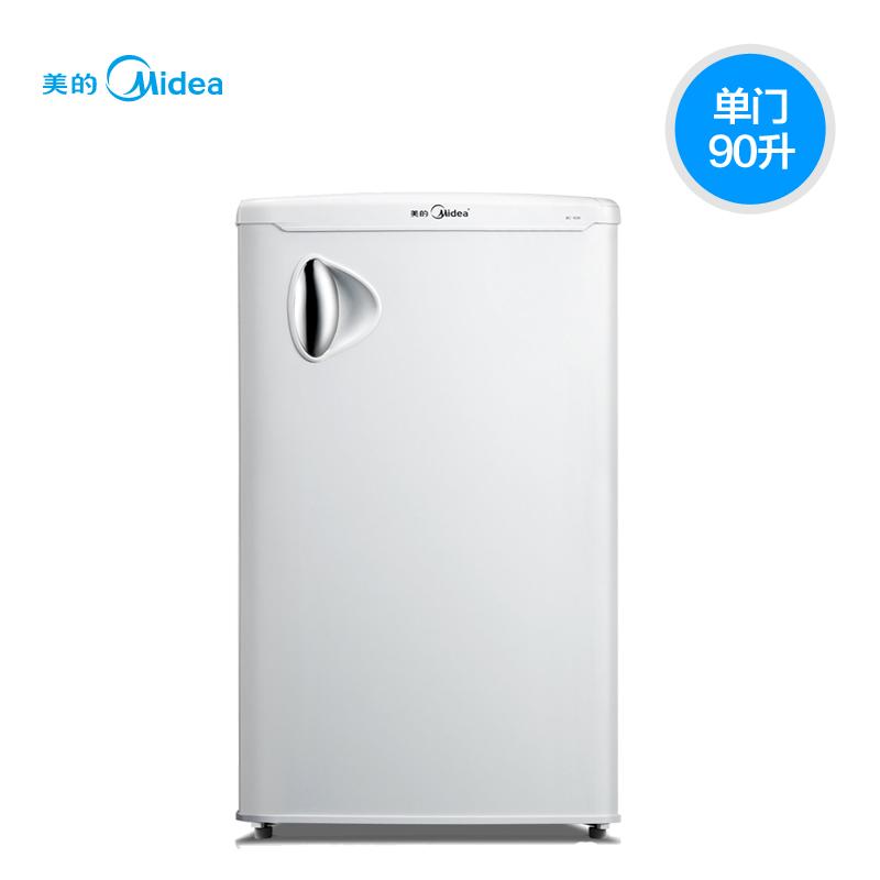 美的 单门式冷藏冰箱 冰箱