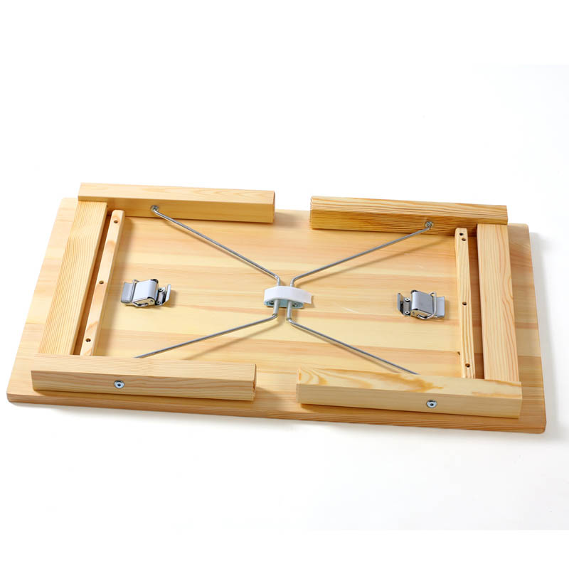 惠万家 支架结构松木折叠简约现代 80*35折叠桌