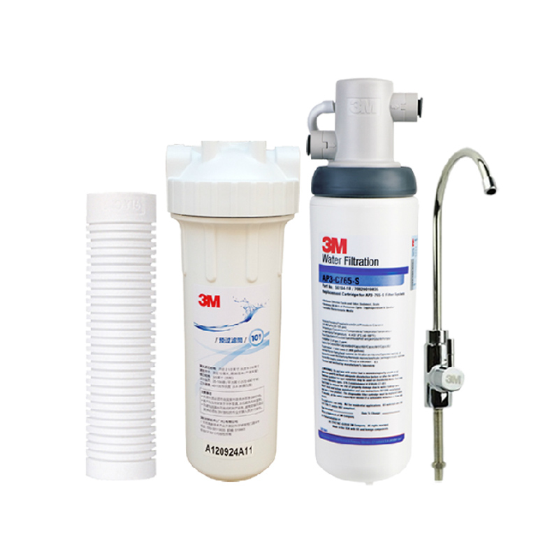 3M 无1年活性炭5级以上厨房饮用水(直接饮用)4.4℃-38℃市政通水净水机 净水器