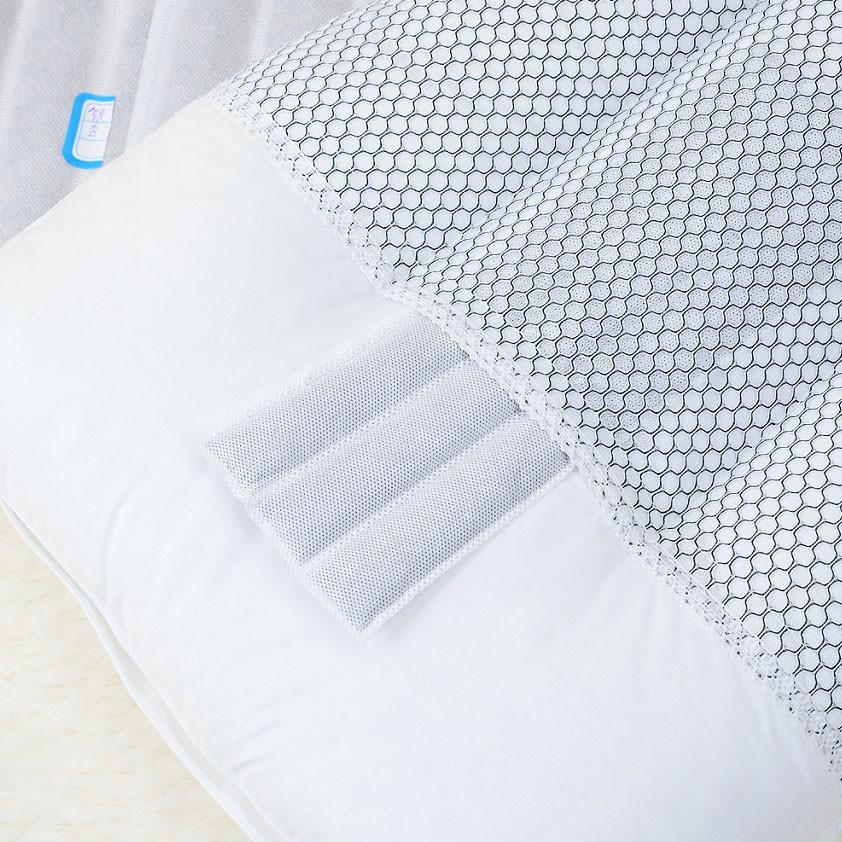 敏洁昊斜纹布优等品棉布决明子长方形枕头