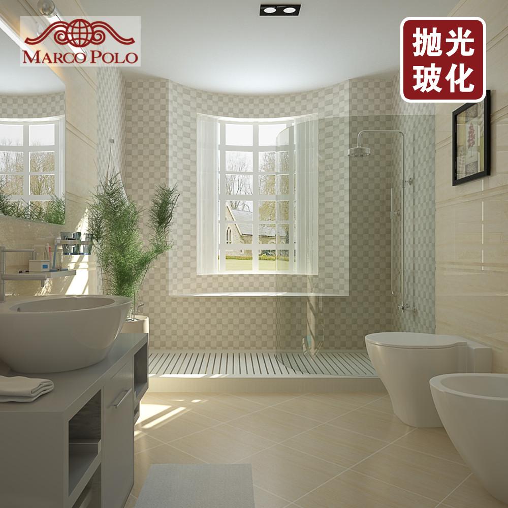 马可波罗瓷砖 玻化砖 抛光砖 法兰西木纹石pg6518c 600*600