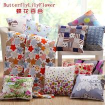 布靠垫被化纤植物花卉简约现代 KDB1305抱枕