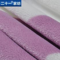 珊瑚绒毯一等品春秋条纹简约现代 毛毯