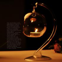 玻璃杯状蜡烛欧式 烛台