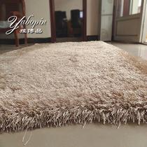蚕丝欧式纯色长方形欧美机器织造 地毯