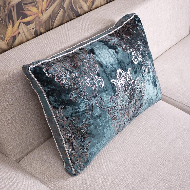 丝茉尔不含芯含芯布靠垫棉几何图案欧式靠垫