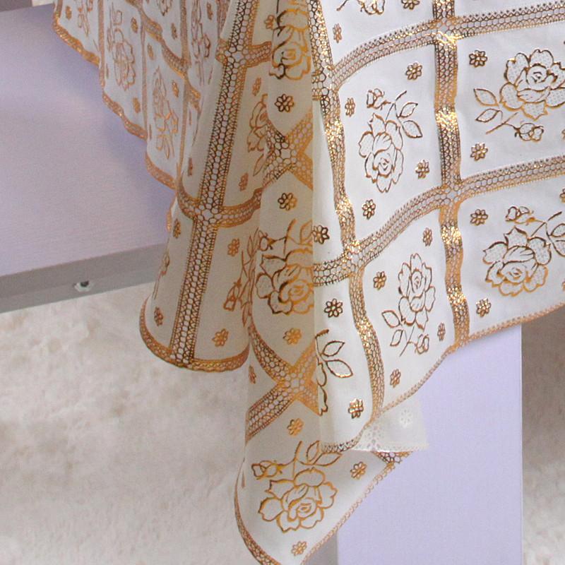 居八佰植物花卉现代中式桌布
